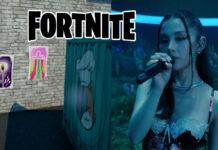 Fortnite x Ariana Grande Concert Posters