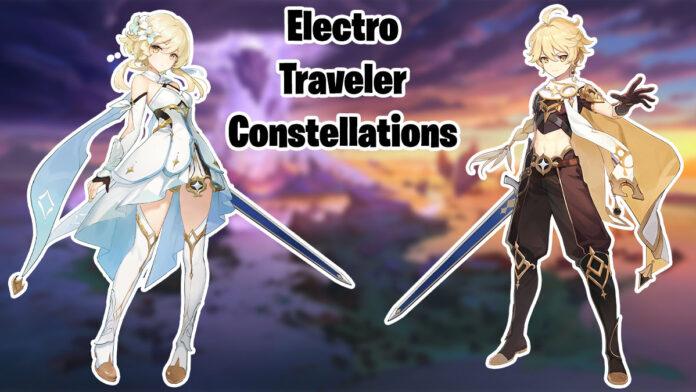 Genshin Impact both travelers