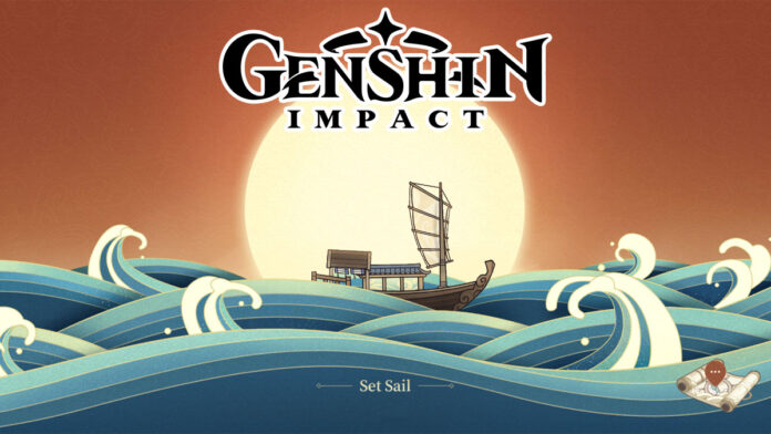 Genshin Impact Mysterious Voyage web event
