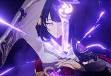 Genshin Impact character Raiden Shogun
