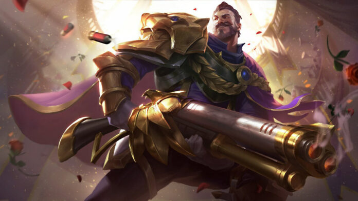 League of Legends champions' weapons