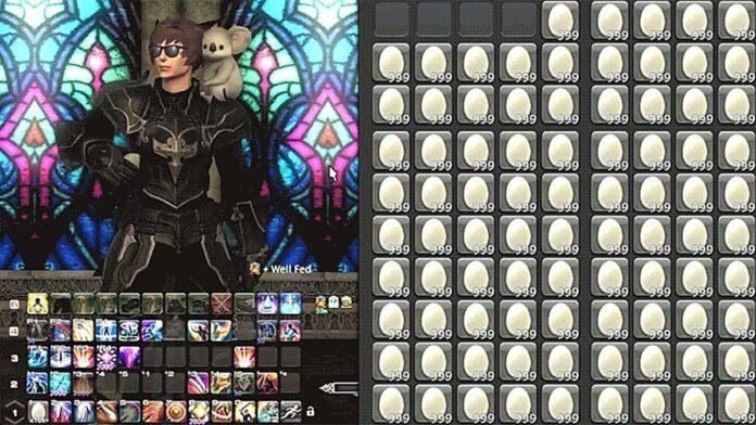 RubberNinja Concludes 7-Day Long Eggwalker Subathon After Eating 147,000 Eggs on Final Fantasy 14