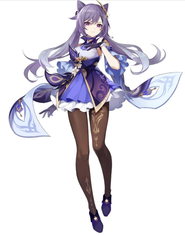 Genshin Impact character Keqing