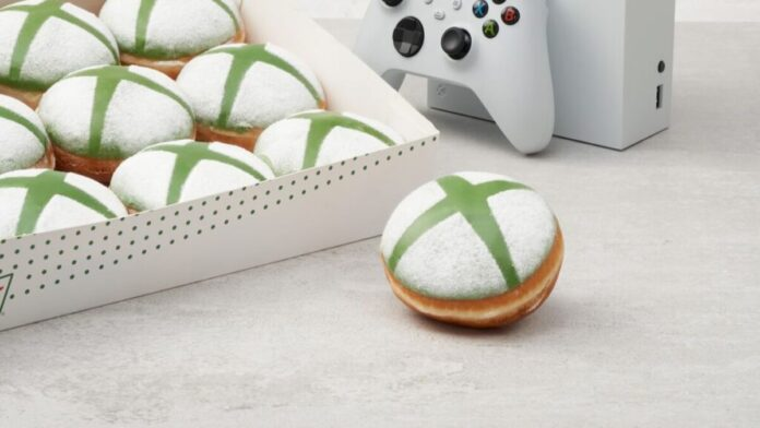Krispy Kreme UK Introduces Limited Edition Xbox Donuts