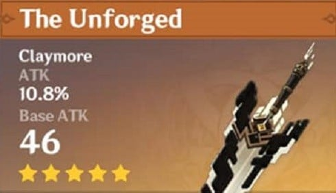 The Unforged
