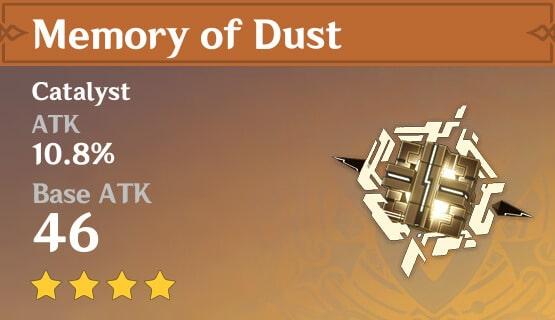 Memory of Dust