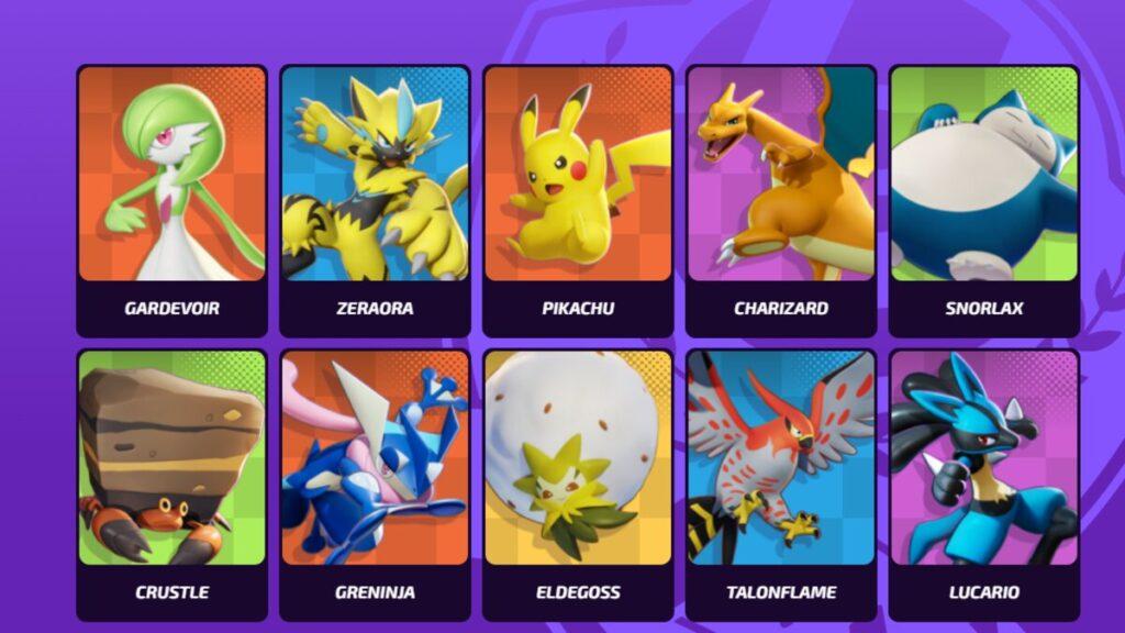 Overall Best Pokémons in Pokémon Unite