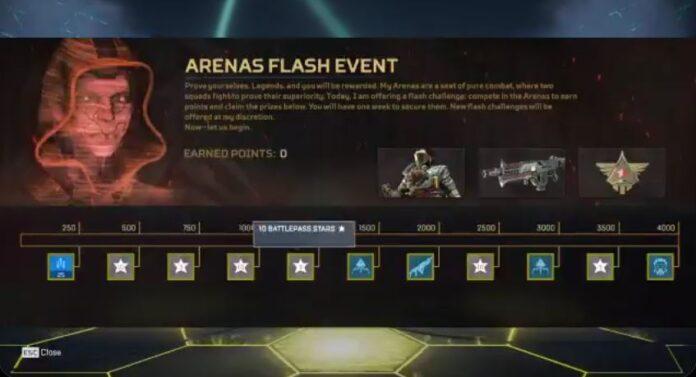 Arenas Flash Event