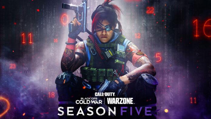 Call of Duty Warzone and Cold War Season 5