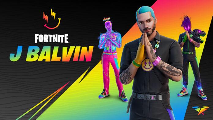 Fortnite J Balvin Skin