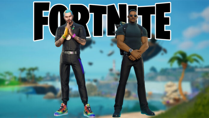 Fortnite J Balvin and Will SMith Skin