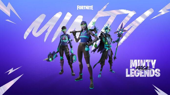 Fortnite Minty Legends Skin Bundle