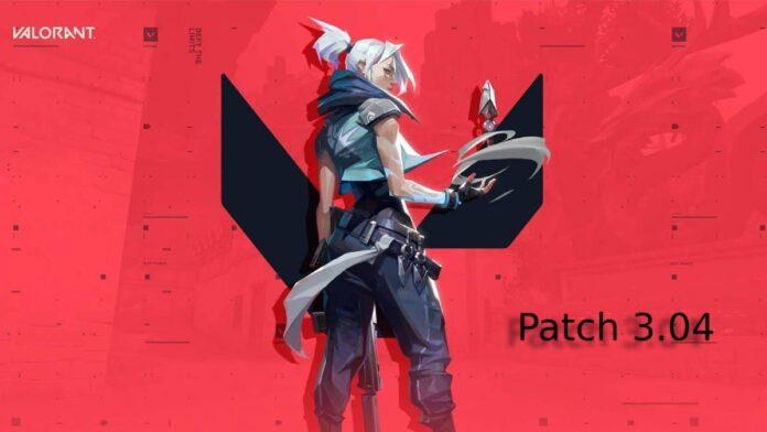 Valorant patch 3.04