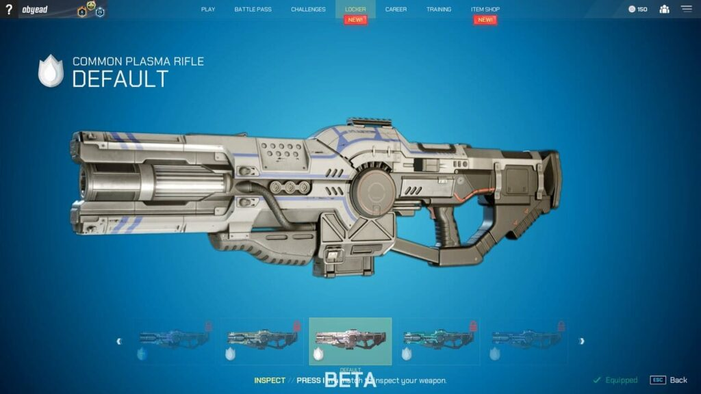 Splitgate Plasma Rifle