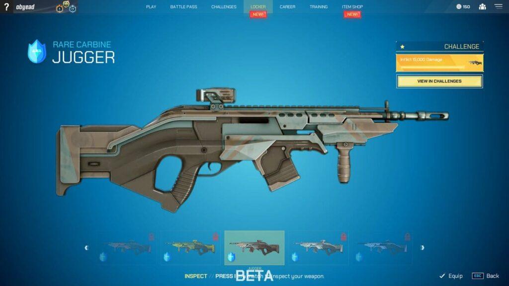 Splitgate Carbine