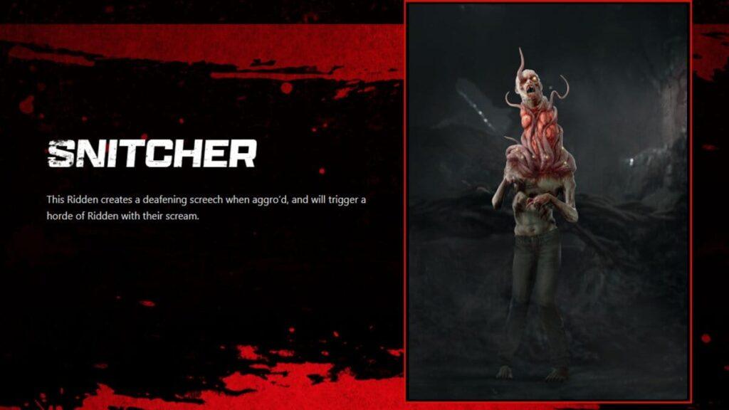Snitcher Back 4 Blood