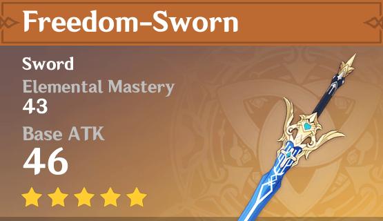 Freedom-Sworn