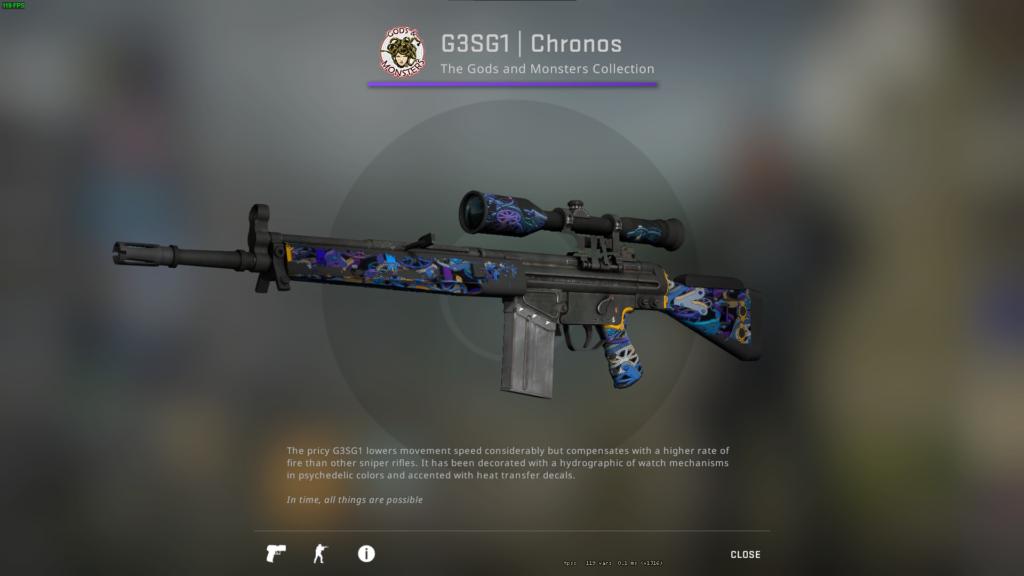 G3SG1   Chronos (Well-Worn)