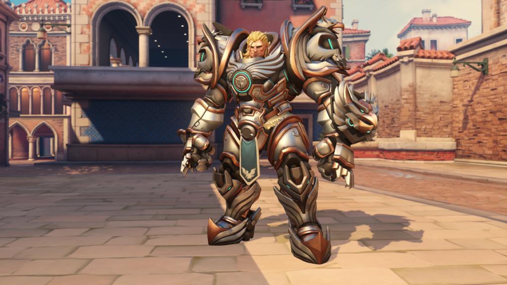 Reinhard's Crusader skin