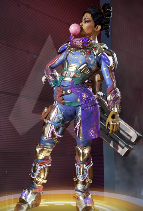 New Rampart Skin Recolor(Requires The Devi You Know)