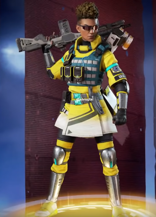 New Yellow Bangalore skin(Requires Officer Williams)