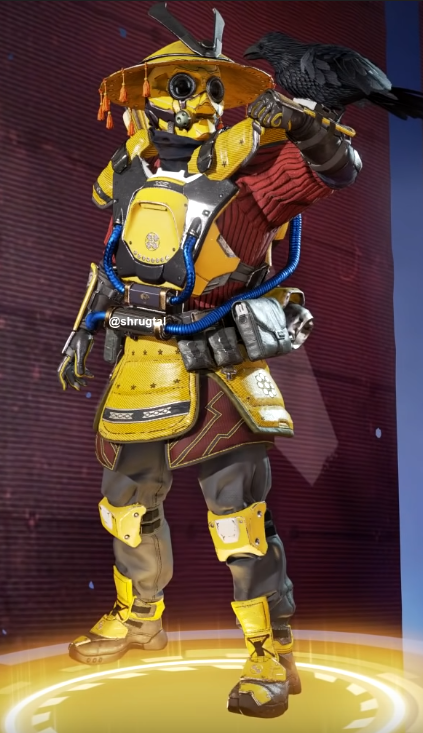 New Bloodhound Skin(Requires Royal Guard)