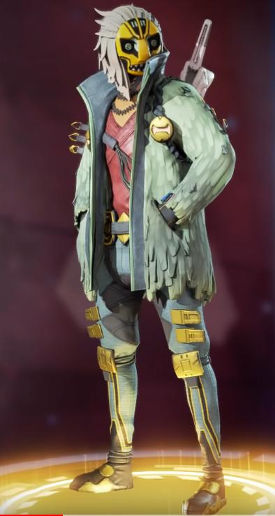 Crypto's Masked Storyteller Skin(Requires The Masked Dancer)