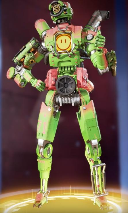 Pathfinder Green Machine Skin(Requires The Aviator)