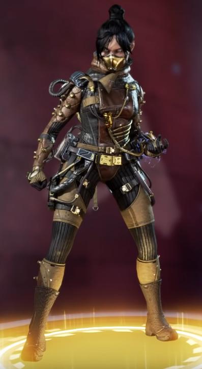 Wraith Airship Assassin Skin(Requires Void Specialist)