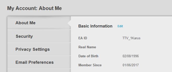 origin Apex change user name