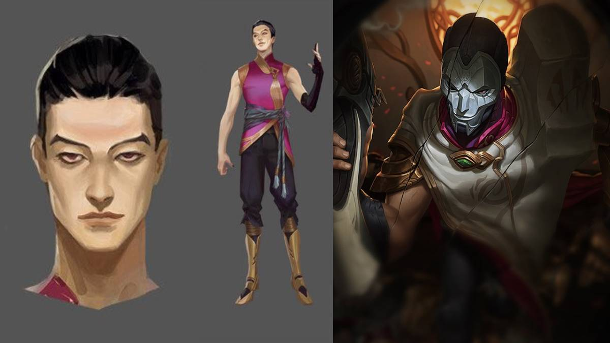 Jhin Face Reveal