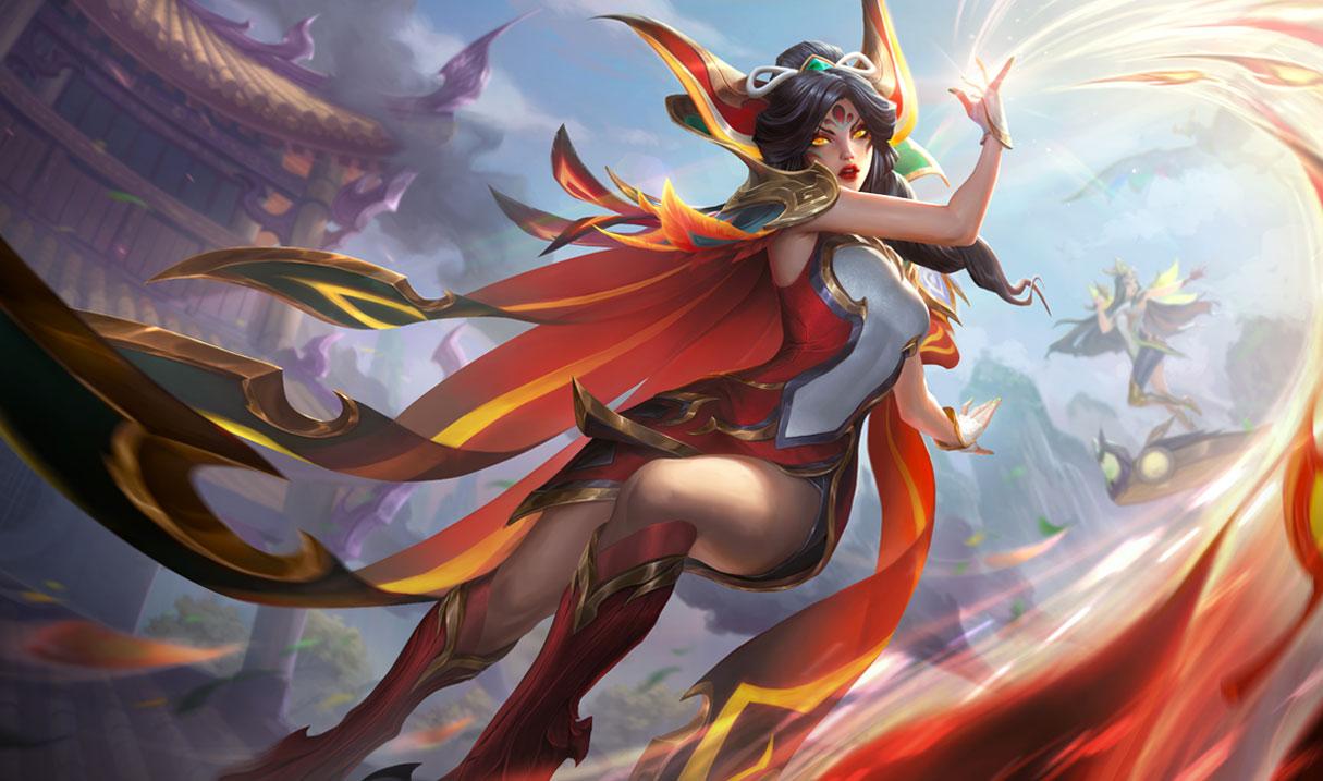 Brave Phoenix Xayah