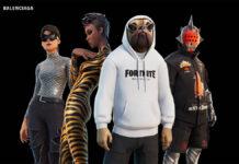 Fortnite x Balenciaga Collaboration