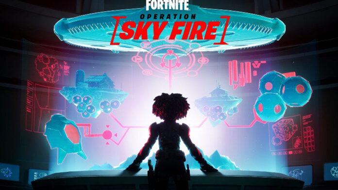 Fortnite Operation Skyfire Event teaser