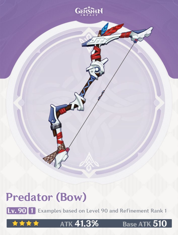 Predator Bow