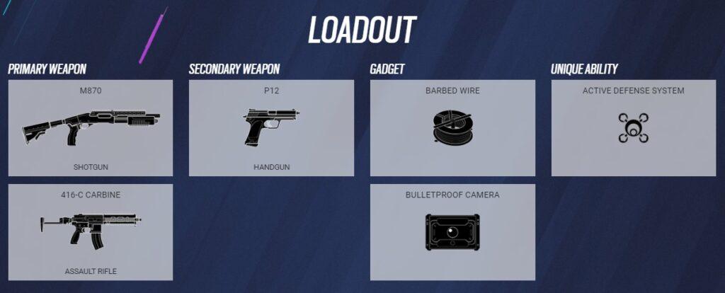 jager loadout
