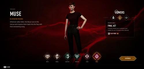 Archetypes in Bloodhunt