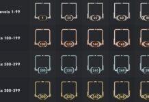 Valorant account level banners