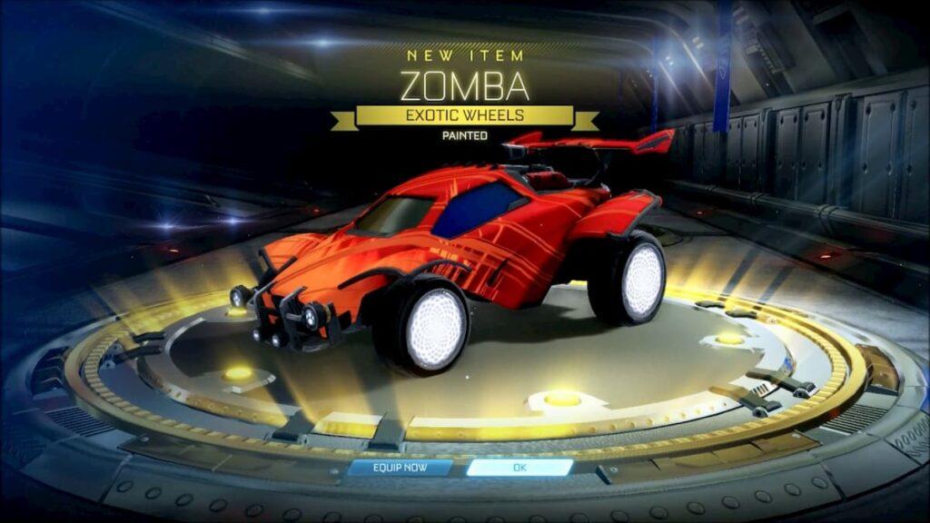 Wheels in Rocket League