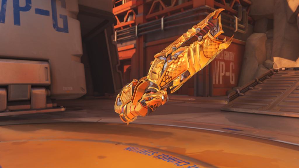 Zarya's Polyanista Weapon