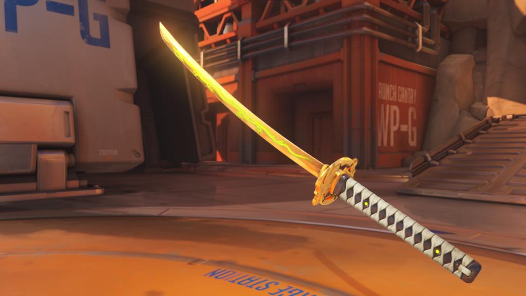 Bushi Genji Golden Gun