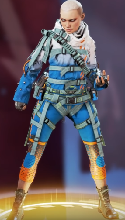 Wraith's Flashpoint Skin(Requires Vengeance Seeker)