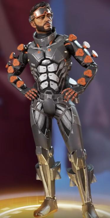 Mirage's Dark Artist Skin(Requires Ghost Machine)