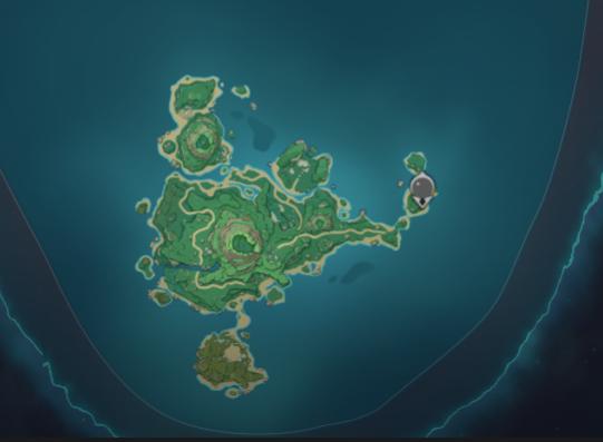 Genshin Impact Tsurumi island map