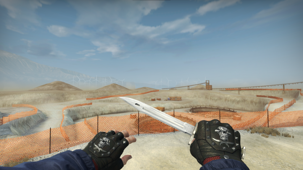 Bayonet Knife Skin