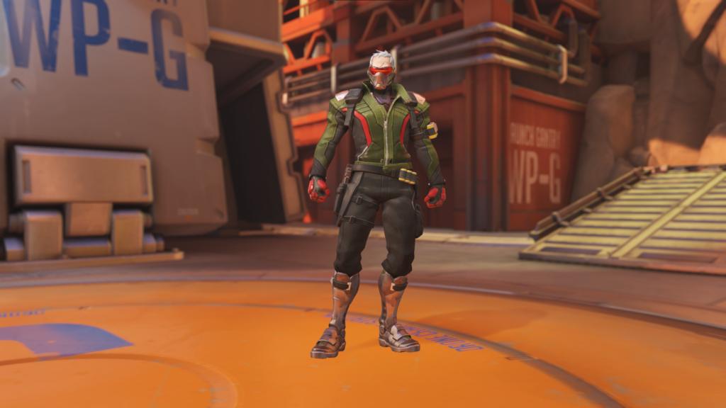 Olive Soldier: 76: