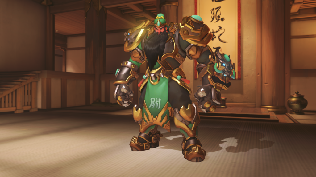 Reinhardt's Guan Yu skin