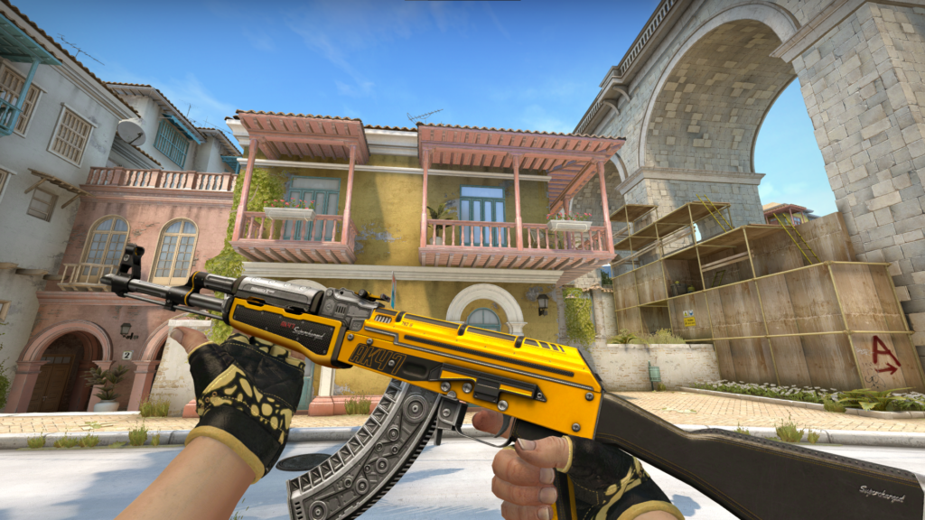 Factory New Ak-47 | Fuel Injector