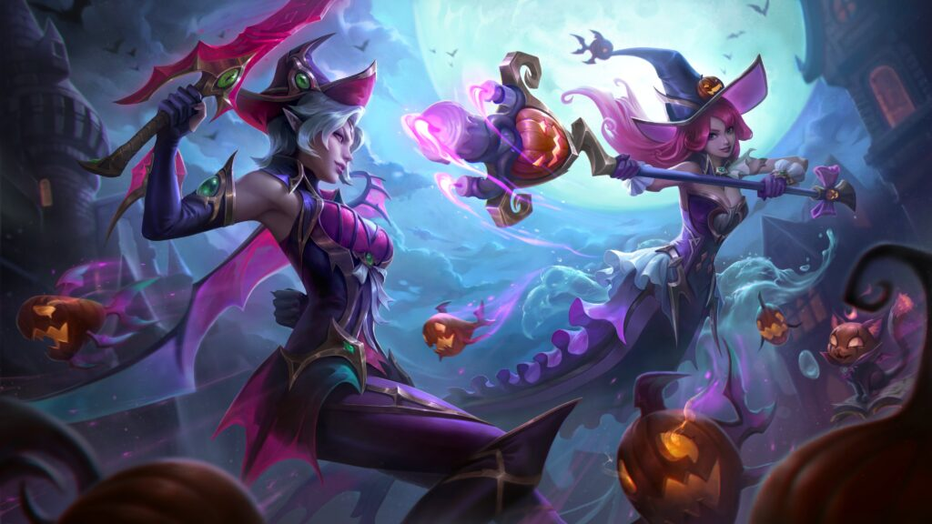 Bewitching Fiora and Nami