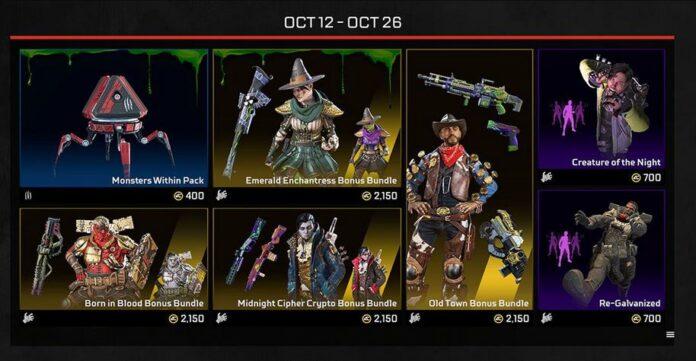 Apex Halloween Event skins